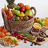 Amazon Dried Fruits Special - Same Day Dried Fruit Basket Delivery - Dried Fruit Gifts - Best Dried Fruit Tray- Mixed Dried Fruit - Dried Fruit and Nut Gift Baskets