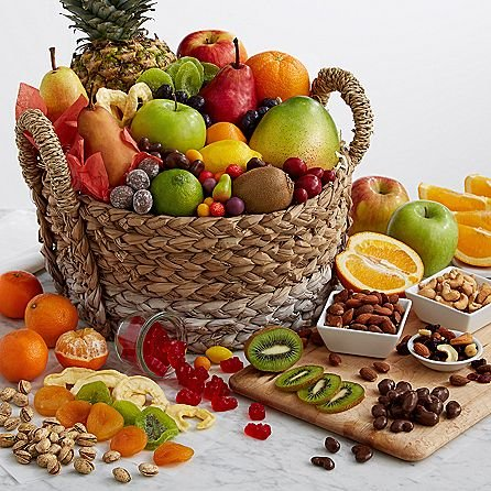 Healing Fruit Basket - Same Day Gift Baskets Delivery - Fresh Fruit Baskets - Fruit Basket Delivery - Organic Fruit Baskets - Best Gift Baskets