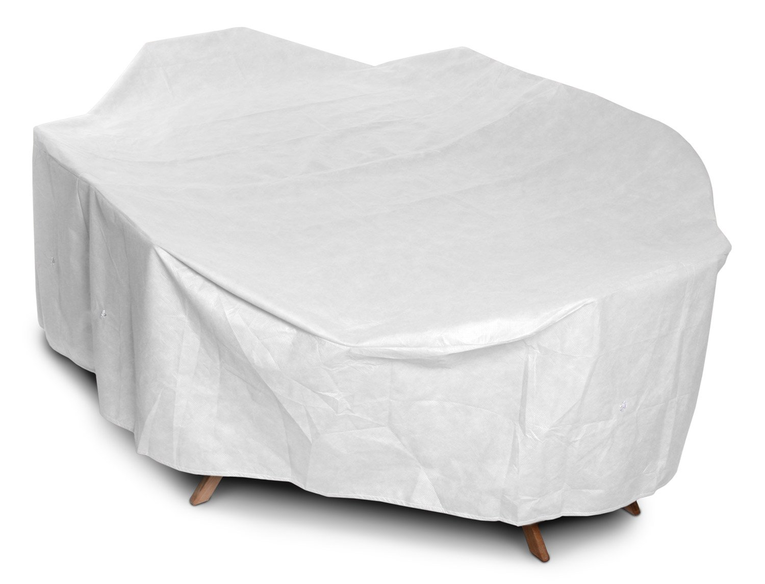 Amazon.com : KoverRoos DuPont Tyvek 21362 Large High Back Dining Set Cover,  112 By 88 By 36 Inch, White : Patio Table Covers : Garden U0026 Outdoor