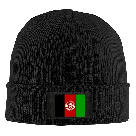 a6feb81b9 Amazon.com: ChunLei Afghan Flag Unisex Warm Winter Wool Hat Knit ...