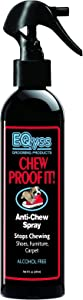 EQyss Chew Proof It Spray (8oz) - Guaranteed to Stop Your Pet from Chewing