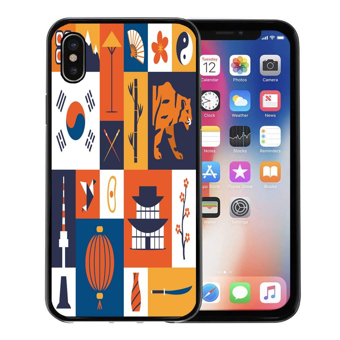 Amazon com: Emvency Phone Case for Apple iPhone Xs case