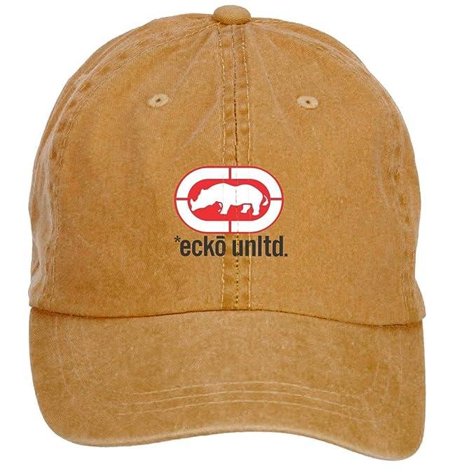 Xiuluan Ecko Unlimited (algodón), diseño con logotipo lavar Gorra ...