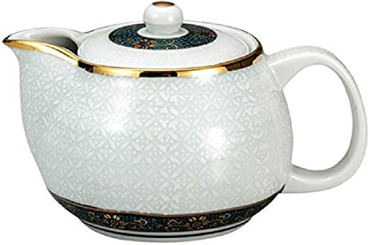 Kutani Yaki with tea strainer Japanese Teapot Yoshidaya ware