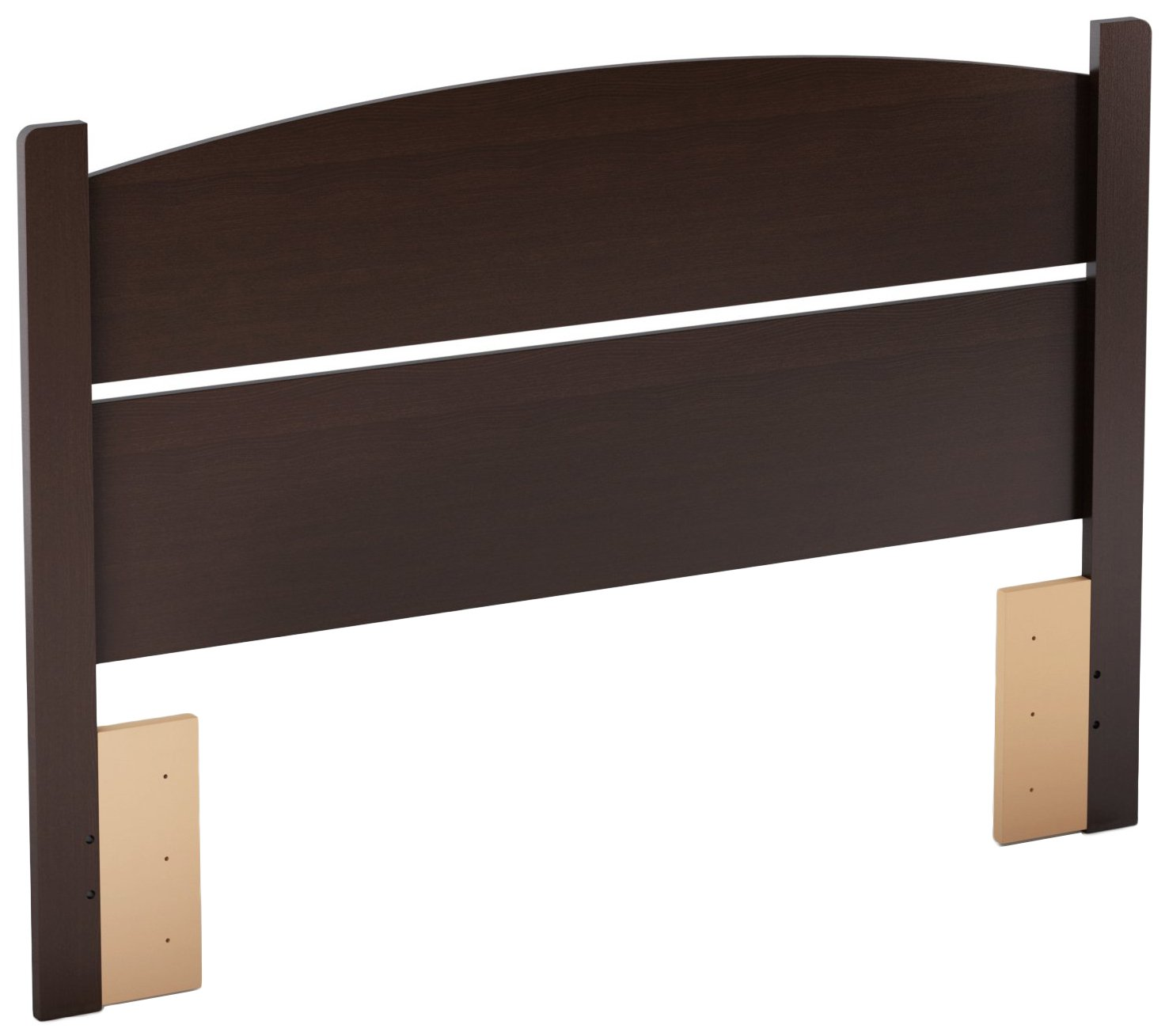 South Shore Libra Headboard, Full 54-Inch, Chocolate