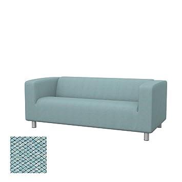 Amazon.de: Soferia - Bezug fur IKEA KLIPPAN 2er-Sofa, Nordic Sea Green
