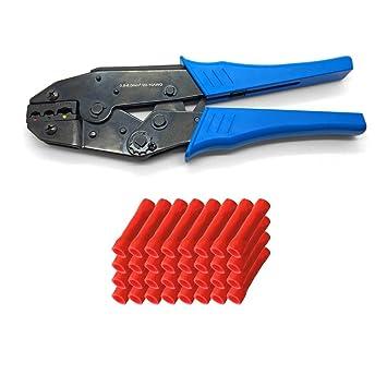 100x Stossverbinder Schrumpfverbinder Kabelverbinder Quetschverbinder 0,5-1,5 mm