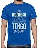 Camiseta para Hombre - Soy Ingeniero Solo Asume Que Siempre Tengo la Razón - Regalo Original para Ingenieros