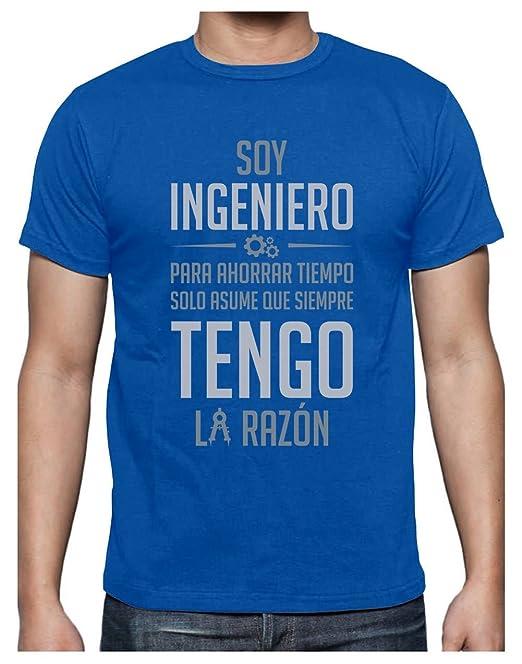 Camiseta para Hombre - Soy Ingeniero Solo Asume Que Siempre Tengo la Razón - Regalo Original para Ingenieros: Amazon.es: Ropa y accesorios
