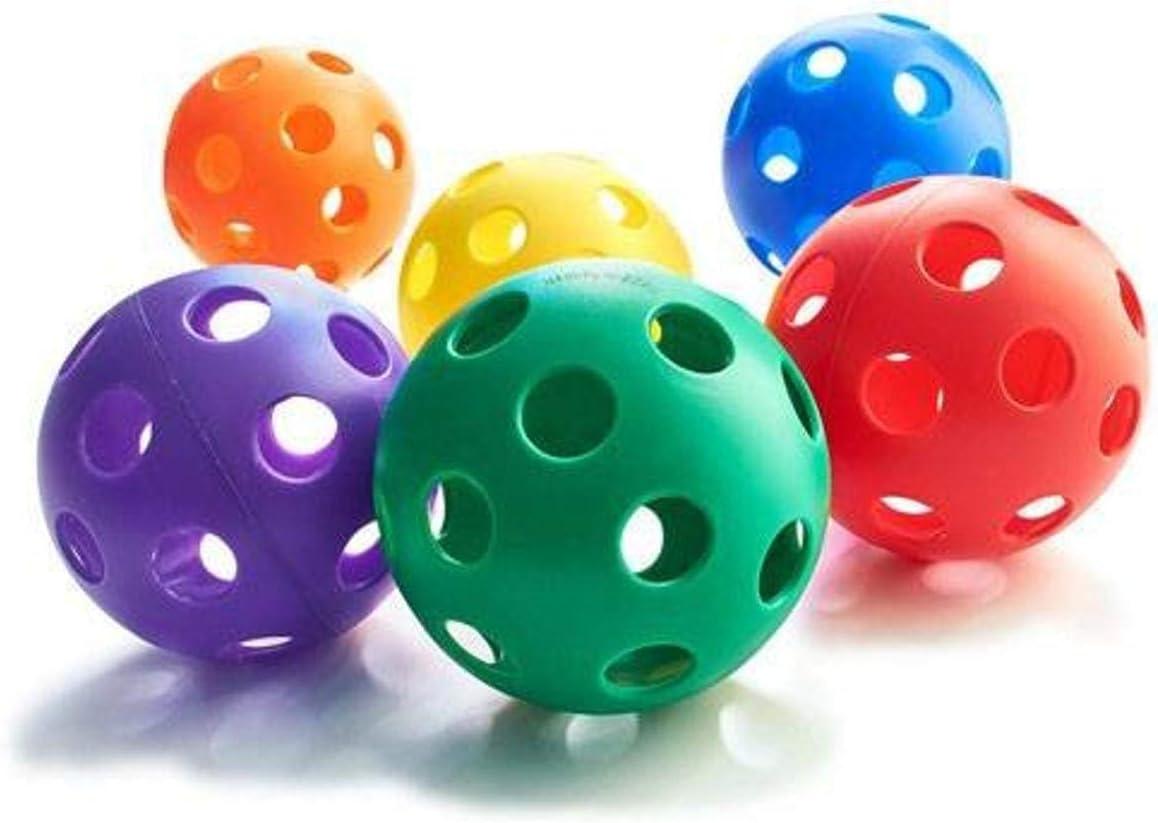 Baseball Size Set of 6 Plastic Play Balls