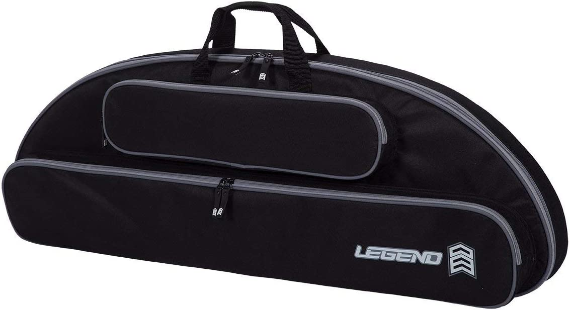 Legend Wolf Original Genesis Compound Bow Case - Thick Padding, Backpack Straps, Soft Handles for NASP Archery