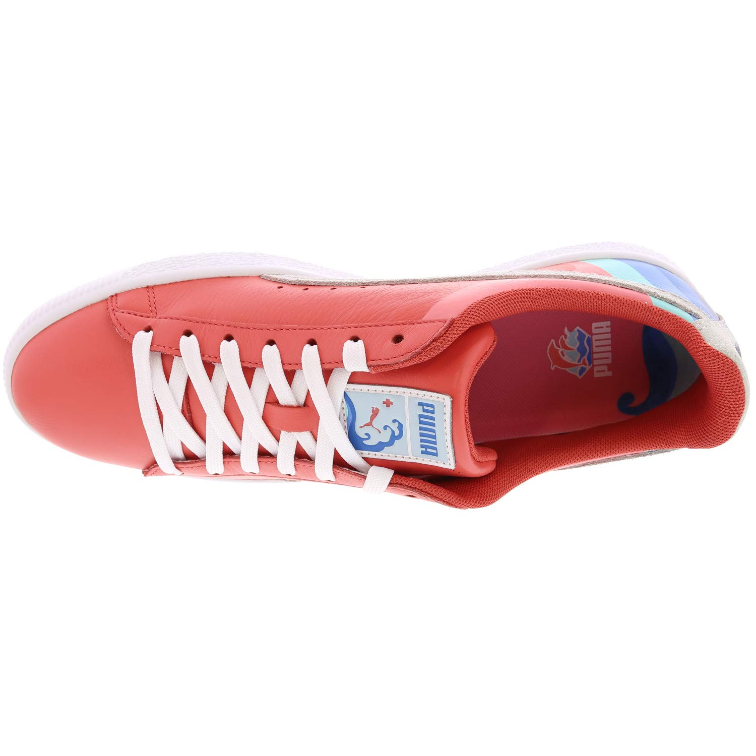 new arrival 909fb 758aa PUMA Mens Clyde - Pink Dolphin