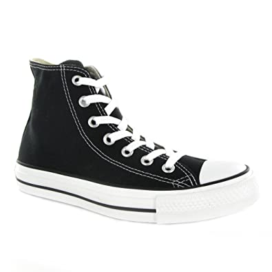 6cd4518b66c Converse CT All Star Hi Black Canvas Mens Trainers Size 11 UK  Amazon.co.uk   Shoes   Bags