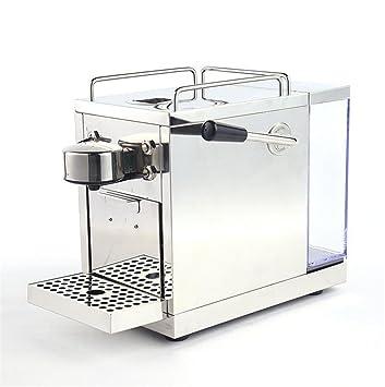 ZWZT Cafetera automática de acero inoxidable hotel de la cápsula oficina portátil máquina de café: Amazon.es: Hogar