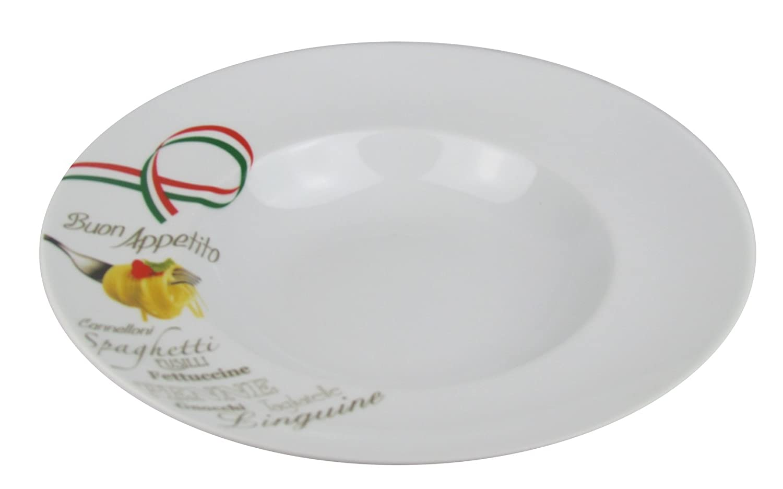 mit Pastalöffel im Set Pasta//Ø 30cm Retsch Arzberg Pastateller 2er Set mit Dekor
