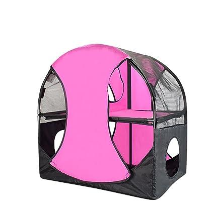 JINZE - Túnel plegable para mascotas, juguete para gatos, montura para gato con rueda de Ferris, ...