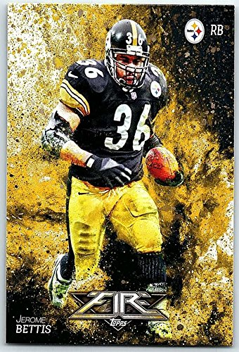 Fire Football - Football NFL 2014 Topps Fire #48 Jerome Bettis NM-MT+ Steelers