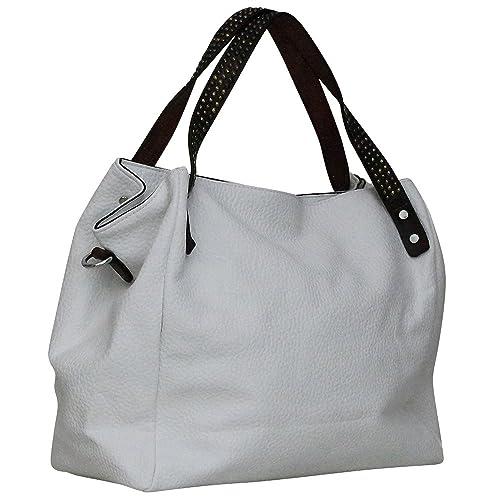 735f5622da Chapeau-tendance - Sac a main blanc Potri - - Femme: Amazon.fr ...