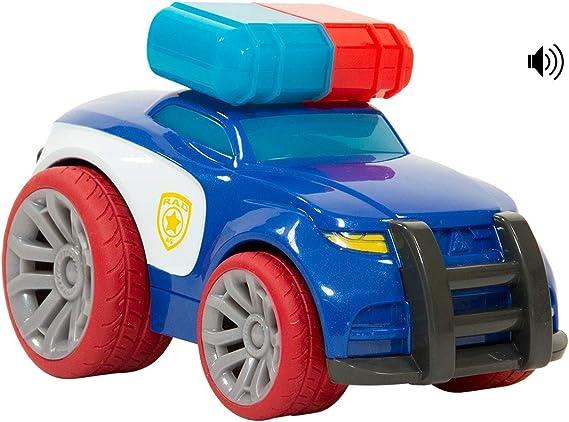 UZOOM Racers - Coche Infantil Policía Racer – pequeño Coche de policía con Luces, Sonidos y Sirena – Coche Juguete con Pilas – Juguete para niños de 3 años +: Amazon.es: Juguetes y juegos