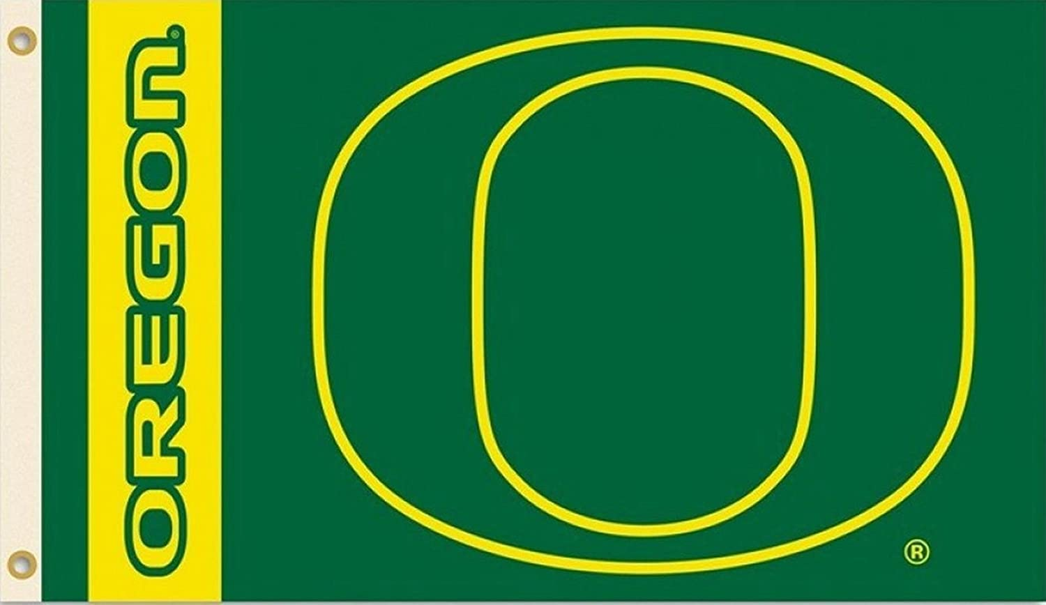 Ncaa Oregon Ducks 3 By 5 Foot Flag With Grommets by Bsi