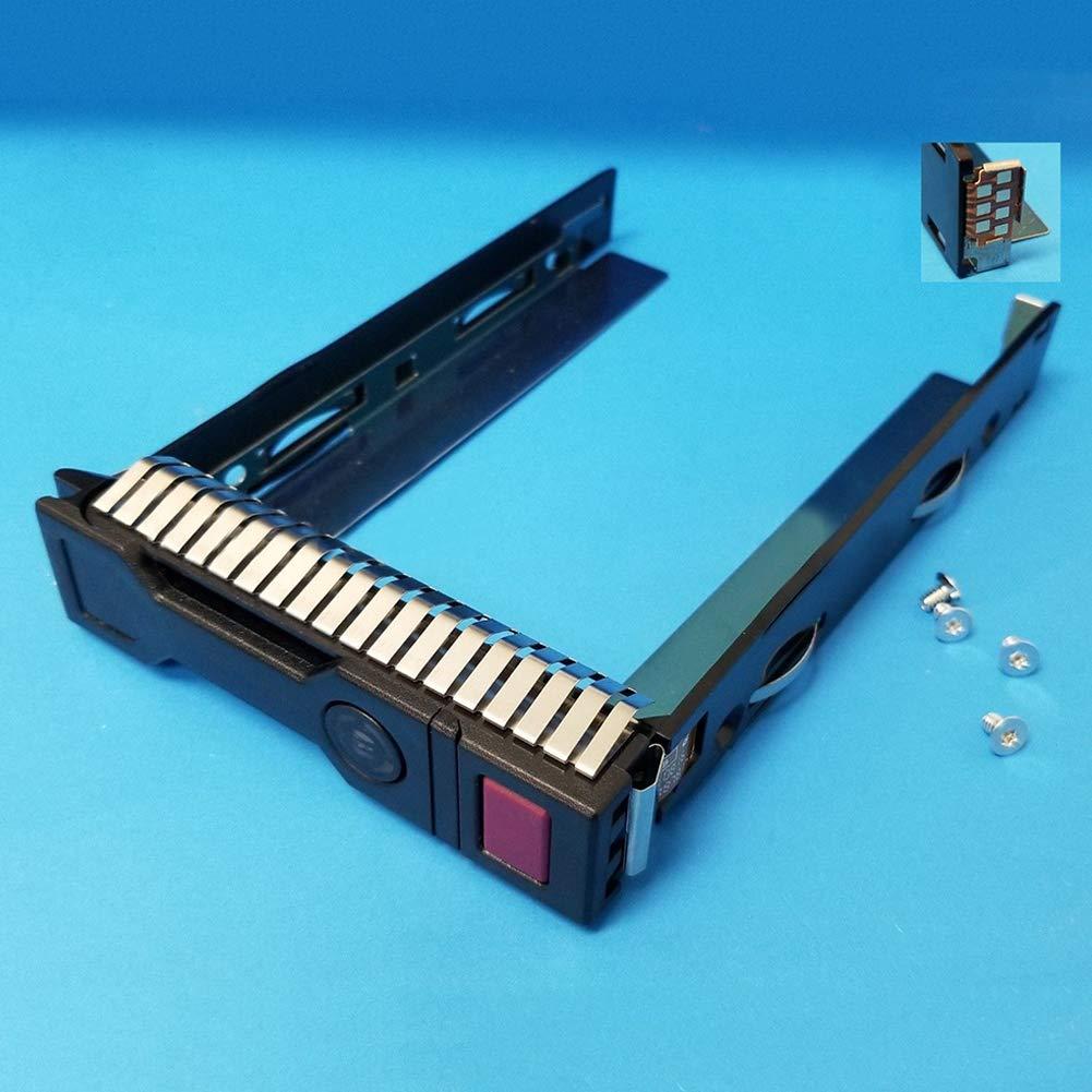 Shentesel 3.5inch SATA HDD Tray Caddy Hard Drive Disk Bracket for HP GEN8/GEN9 651314-001