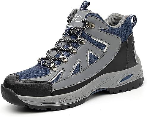 Steel Toe Work Boots for Men Women