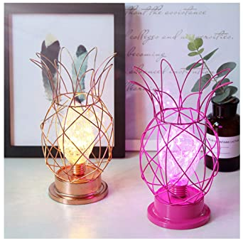 Lampara de piña decoracion interior lampara mesa mesa luz nocturna ...