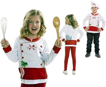 Disfraz Camiseta de Cocinero Original de Carnaval Infantil para 2 ...