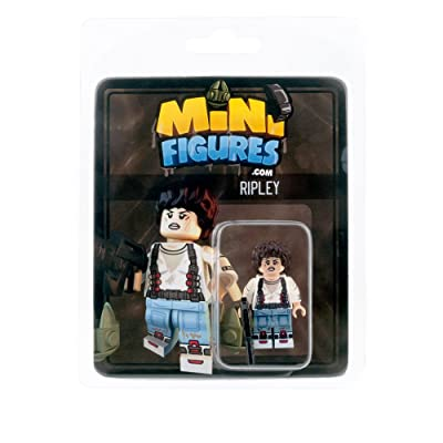 Custom Design Minifigure - Aliens Ripley - Collectable Toy Figurine for Kids, Men and Women | Sci-Fi Movies: Toys & Games