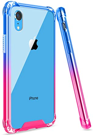 Amazon.com: Ansiwee - Funda para iPhone XR, reforzada ...