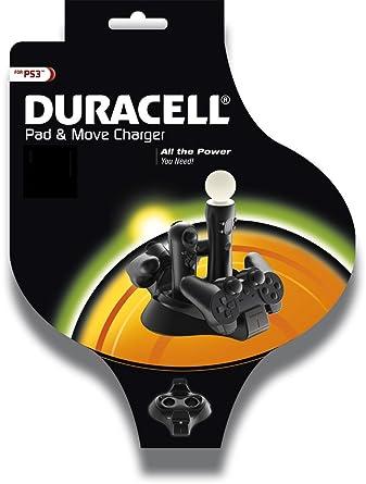Duracell Pad and Move - Cargador de mandos para PS3: Amazon ...