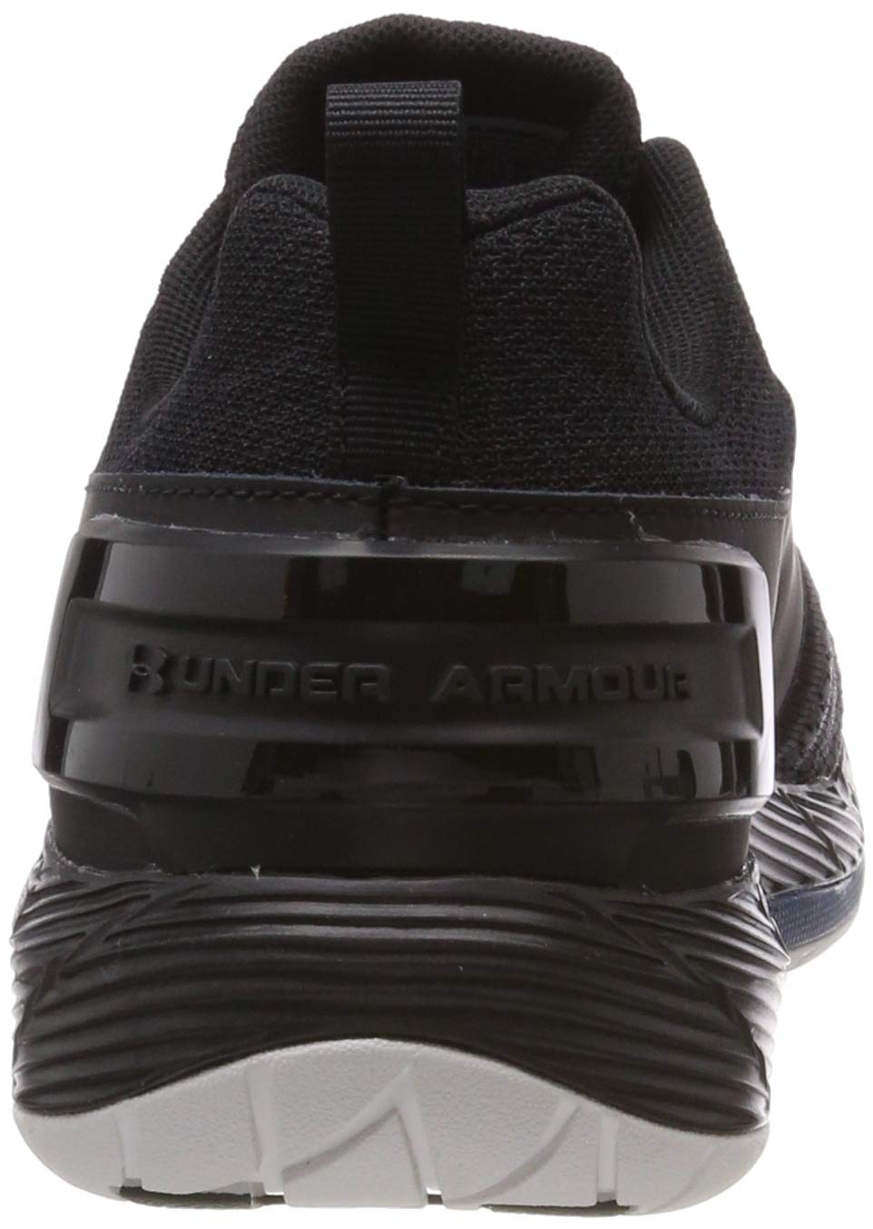Under Armour Men's Commit TR EX Sneaker, Black (008)/Petrol Blue, 7.5 M US by Under Armour (Image #2)