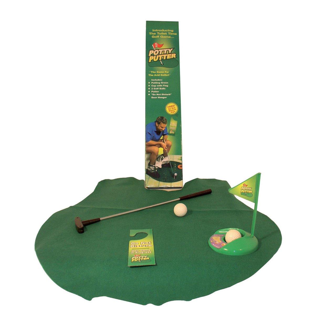 Juego de golf para el cuarto de baño, golf en el WC: Amazon ...