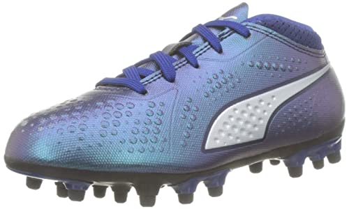pretty nice 8337b 6180a Puma One 4 Syn AG Jr Chaussures de Football Mixte Enfant, Bleu (Sodalite  Blue
