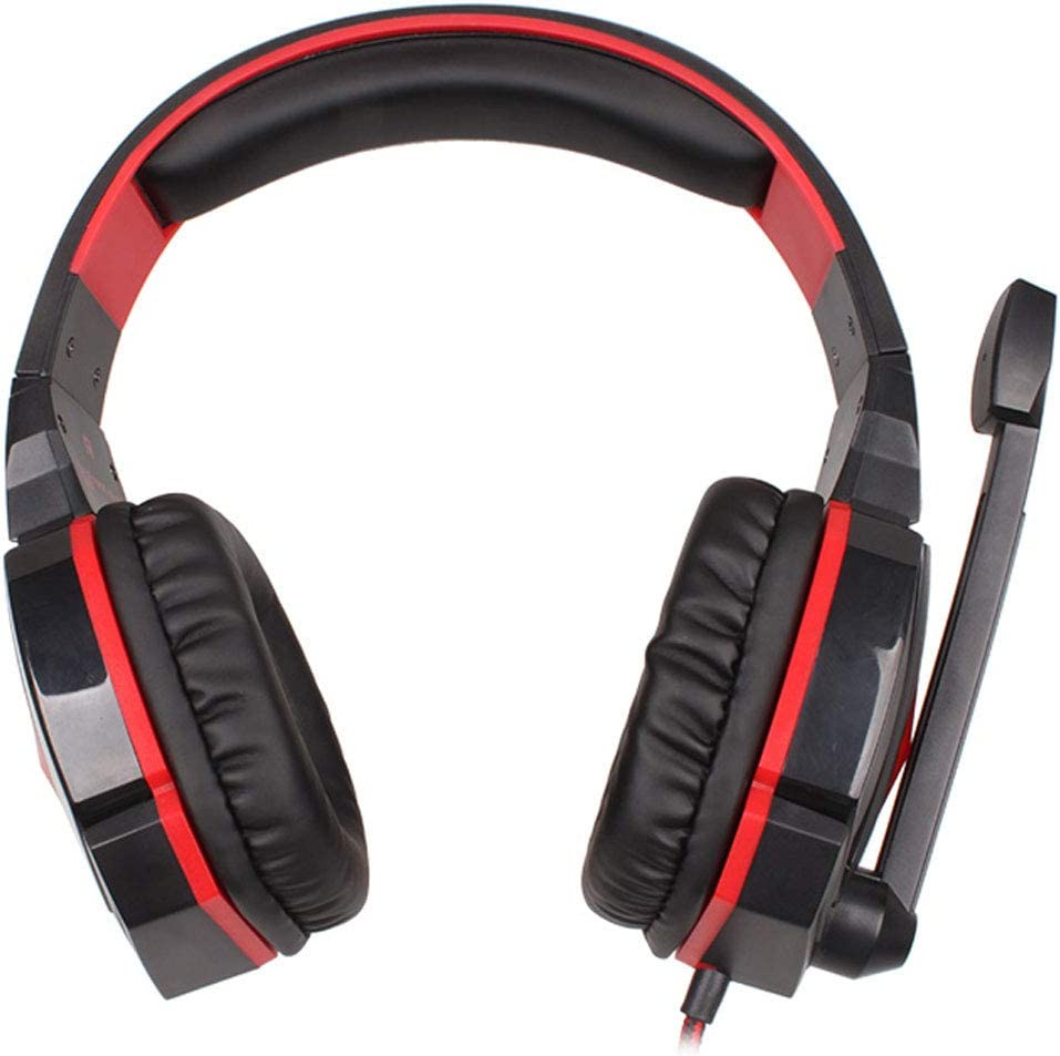 Elalma Wired Over The Ear Stereo Gaming Headset Headphone with Mic Volume Control Game Headphones Game Headphones