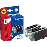 Pelikan 2xC43  Pack de 2 Cartouches compatibles pour Canon PGI 525 2x19ml Noir