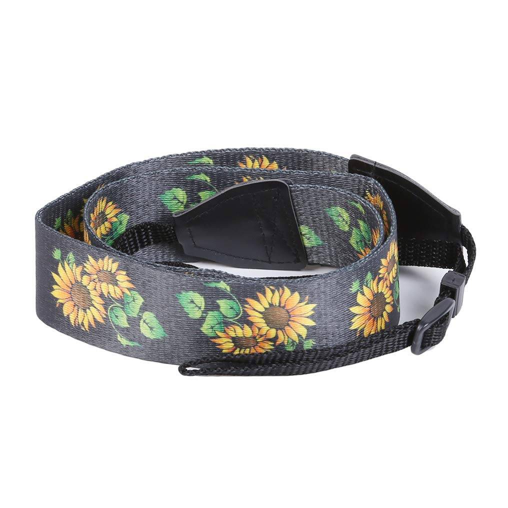GUAngqi Retro Classical Camera Strap Camera Single Shoulder Lens Strap Camera Neck Strap for Canon Nikon Sony DSLR Camera,Sunflower Color,Cotton by GUAngqiqi (Image #6)