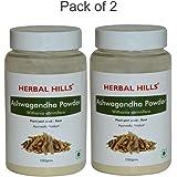 Herbal Hills Ashwagandha Powder - 100 g (Pack of 2)