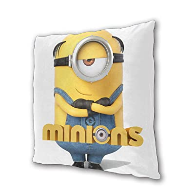 "Minions Outdoor/Indoor Cushions 18.5""x 18.5"", 2 Pieces: Kitchen & Dining"