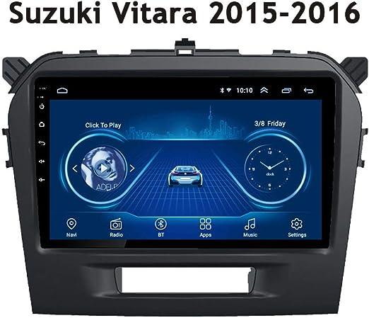 Nav Bluetooth Autoradio Player 9 Zoll Anwendbar Für Suzuki Vitara 2015 2016 Android Car Multimedia Stereo Gps Navigation Auto Video 2din Lautsprecher Audio Media Fm Sport Freizeit