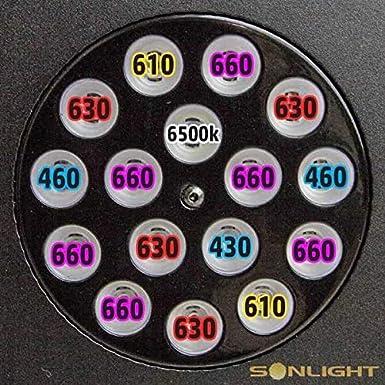 160x3w 480W LED Coltivazione Sonlight Apollo PLUS Hyperled 10