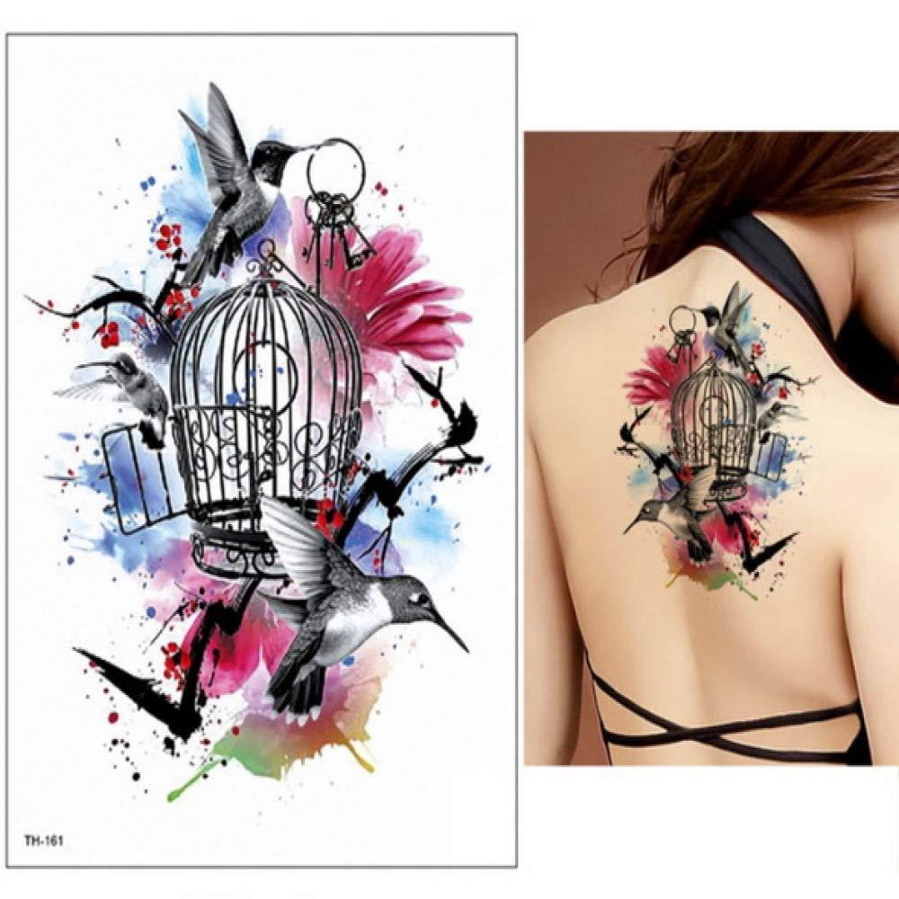 adgkitb 3pcs Fake Temporary Tattoos Stickers Rose Flowers Arm ...