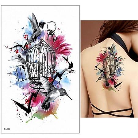 tzxdbh 3Pcs-Tatuaje Femenino Tatuaje Brazo Pierna Tatuaje ...