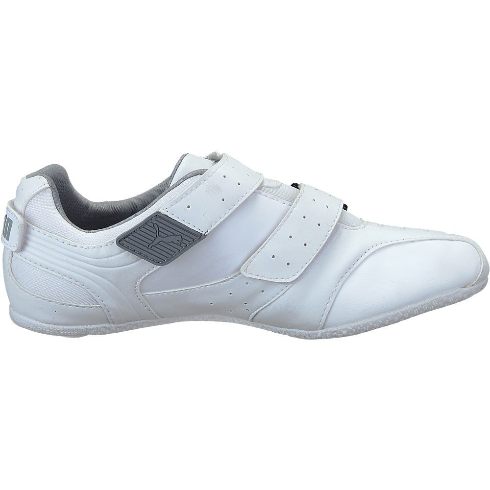 3b5cfef5eeaff7 Puma Men s Cyclocross White Leather Sports Shoes Uk-9  Buy Online at Low  Prices in India - Amazon.in