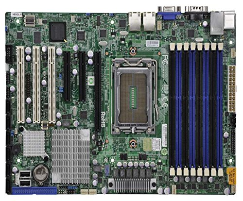Motherboard Supermicro Ethernet (Supermicro H8SGL-F Motherboard - Amd Magny Cours Single Socket with on-board Ipmi)