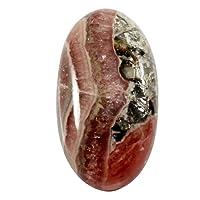 Gems&JewelsHub 33.20CTS 100% Naturale Rodocrosite Nice Designer cabochon Ovale Gemma Sciolto