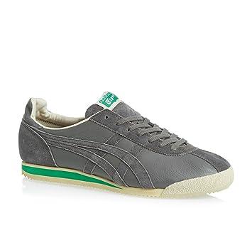 ASICS Onitsuka Tiger Corsair Vintage Zapatillas Sneakers Cuero Gris para Hombre: Amazon.es: Deportes y aire libre