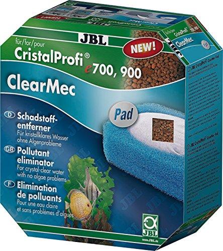 JBL Set mit Nitrit, Nitrat und Phosphatentferner für e 700/701/900/901 ClearMec plus Pad, 60175