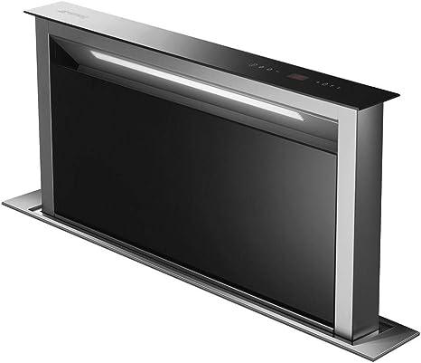 Smeg KDD90VXNE A - Campana de cocina (acero inoxidable), color negro: Amazon.es: Grandes electrodomésticos