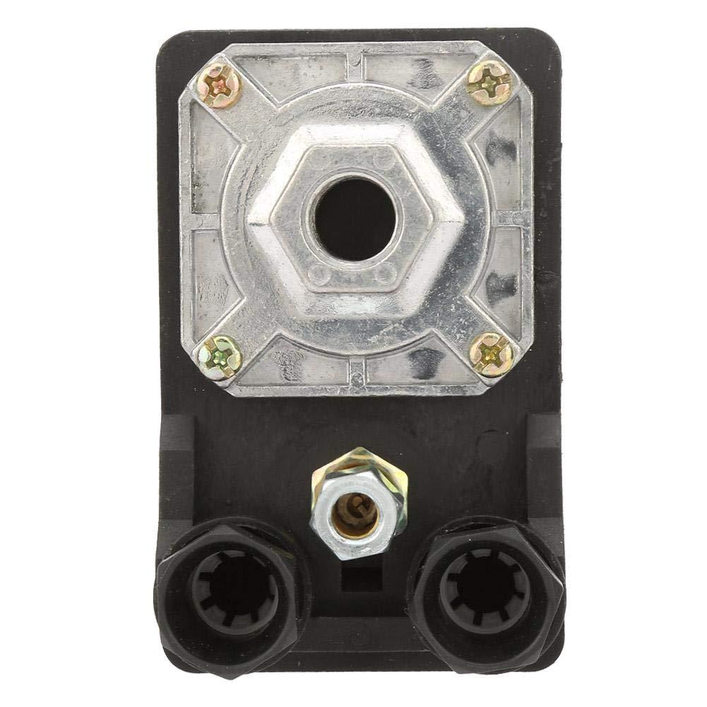 Interruptor de control de presi/ón de un solo orificio vertical V/álvula de control del interruptor de presi/ón del compresor de aire 380V 75~175psi para compresor de aire